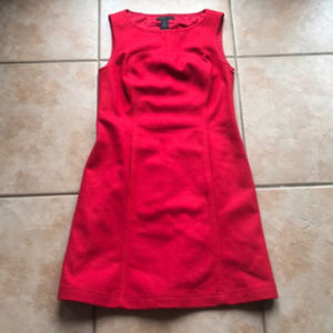 The Limited Red Wool Blend Sheath Dress Size 8